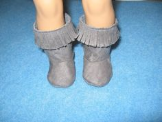 American Girl Doll boots by girlydezines