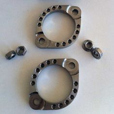 Rocket Bobs Stainless Exhaust Clamps