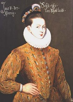 Portrait of James I of England and James VI of Scotland 1566-1625  Phillip Moud:   Puported to be the marriage portrait sent to the Danish Court to seduce, Anne, his future wife This portrait has been referred to by Sir Roy Strong, as being one of the most important portraits of James VI and it is unarguably the most significant image of him remaining in private hands. It has been dated to c. 1585, when James was still only King of Scotland and would have been around nineteen years of age.