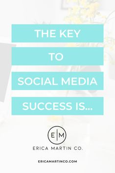 Growing your business through social media is easy and simple just follow this blog by marketing expert Erica Martin. Marketing Guru, Marketing Training, Sales And Marketing, Online Marketing, Social Media Marketing, Social Media Design, Social Media Tips, Social Media Training, Social Media Graphics