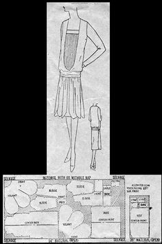 1927 Day Dress http://copa.apps.uri.edu/sample_garment.php?patID=54697