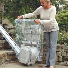 Stuhltreppenlift Wetterschutzhaube