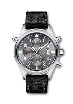 "The IWC Pilot's Watch Double Chronograph Edition ""Patrouille Suisse"""