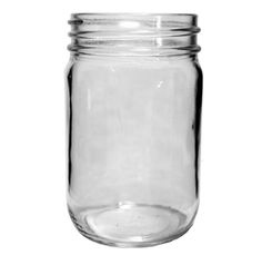 12 oz Clear Canning Jars CT- Regular Mouth - Smooth, not quilted - safe for water bath canning and can be used with 2-piece or 1-piece regular mouth lids. Fillmore Container