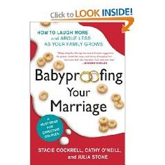 Babyproofing Your Marriage is the warts-and-all truth about how having children can affect your relationship. The transition to parenthood can be a tough adjustment for any couple, but the good news is: you are not alone. With loads of humor, compassion, and practical advice, the Babyproofers will guide first-time parents and veterans alike around the rocky shores of the early parenting years.