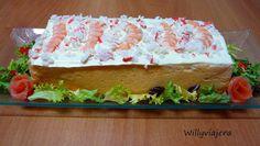 LA WEB DE PURI: Pastel de merluza y langostinos (Plato navideño)
