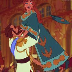 *NICHOLAS II & ANASTASIA ~ Anastasia, 1997