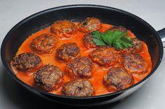 ChocoLanas matblogg: Tefteli - russiske kjøttboller
