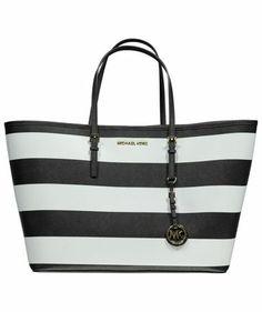 """Damen Tasche """"Jet Set Travel Stripe"""" #musthave #michaelkors #jetset"""