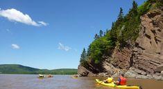 Kayaking, The Hopewell Rocks, Hopewell Cape, New Brunswick Canada