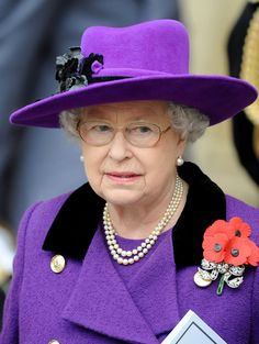 Queen Elizabeth  I want her hat!!  I'm sure she'll never wear it again :)