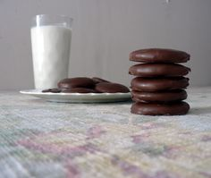 Homemade Girl Scout Cookies: Thin Mint Edition