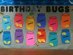 New Ideas For Birthday Board Classroom Ideas Mom Birthday Bulletin Boards, Preschool Bulletin Boards, Classroom Bulletin Boards, Preschool Birthday Board, Bullentin Boards, Toddler Classroom, Preschool Classroom, Classroom Themes, Kindergarten