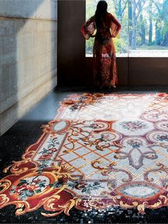 RUG #MOSAIC COLLECTION by Sicis #interiors