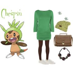 Chespin..... Another new starter. Grass-type.