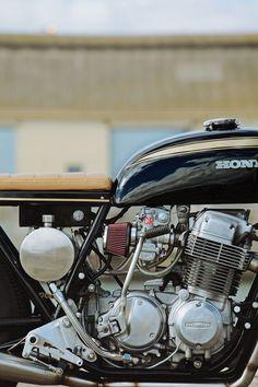 Honda CB750K Cafe Racer by Glory Road Motorcycles #motorcycles #caferacer #motos   caferacerpasion.com