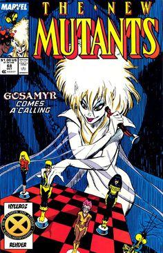SAM-COMICS: Os Novos Mutantes V1 68