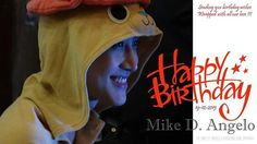 Sending you birthday wishes. Wrapped with all our love ^3^ Happy Birthday, Mike D. Angelo !!! @m1keangelo #m1keangelo #HBDMike #happybirthday2015 #smiling #AngeloFighting  #loveandsupport #m1keangelo_interfanpage