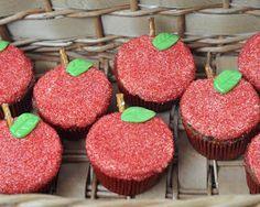 Beki Cook's Cake Blog: Back-To-School Apple Cupcakes