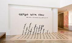 תוצאת תמונה עבור words on wall in exhibition