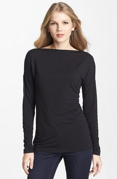 Vince+Boatneck+Tee+available+at+#Nordstrom