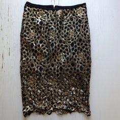 Dresses & Skirts - Lace pencil skirt - NWOT