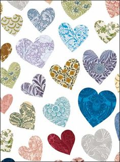 All you need is love... NEW heart greeting card from our National Trust Heritage collection.  A gorgeous card AND a free cuppa!