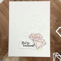 Diamond, Karten basteln, Stampin'up! Papier, eclectic layers, DIY, thinlits, Birthday, cardmaking,