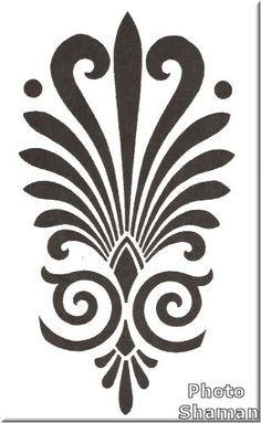 acanthus leaf border motif - Google Search