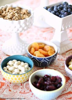 Breakfast Bar | Hot Cereal — Celebrations at Home