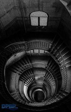 Beautiful stone stairways