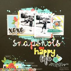 Little Nugget Creations: Snapshots of a Happy Life / Simple Stories