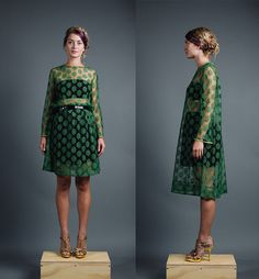 ON HOLD / LAYAWAY 1960s Aluette Daisy Floral Lace by recollectvint, $66.00 // Mod Fashion // Style