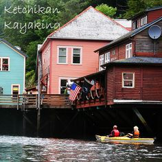 Come and explore Ketchikan by sea kayak with Southeast Sea Kayaks' 2.25 hour Ketchikan Kayaking tour.