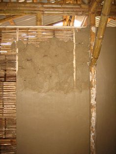 Using bamboo for walls