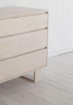simple plywood dresser