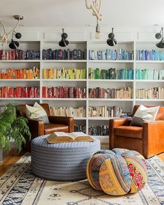 Acquire the unpredictable home library design ideas which can be easily adjusted in your house main hall. Architectures Ideas have amazing home library ideas. Home Library Design, Home Design, Design Ideas, Library Ideas, Library Wall, Dream Library, Home Library Decor, Library Inspiration, Beautiful Library