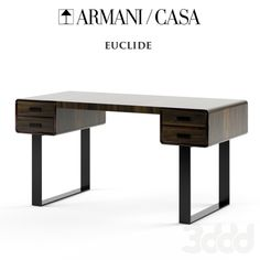 Armani Casa Euclide desk