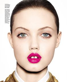 ☆ Lindsey Wixson | Photography by Richard Burbridge | For M Magazine France | April 2015 ☆ #Lindsey_Wixson #Richard_Burbridge #M_Magazine #2015