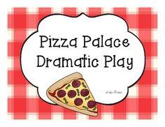 Pizza Palace Dramtic Play