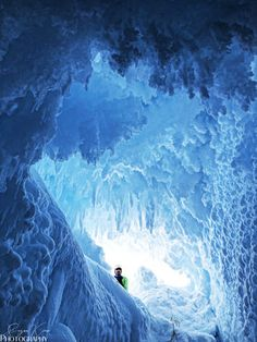 Discover Erebus Ice Tongue Caves in McMurdo Station, Antarctica: Southern Ocean waters and glacial forces transform the Antarctic ice into these stunning bridges and caves. Mcmurdo Station, Planet 1, Antarctica, Abandoned Places, Ocean, Caves, World, Dragon, Outdoor