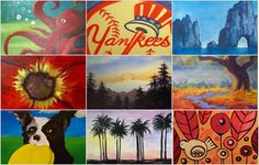 Paint Nite painting classes - 58 different cities