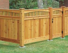 50 Attractive DIY WoodWorking Fence Ideas for the Privacy of Your Home backyard design diy ideas Wood Fence Design, Privacy Fence Designs, Privacy Fences, Backyard Pergola, Backyard Landscaping, Landscaping Ideas, Decks, Fence Styles, Cedar Fence