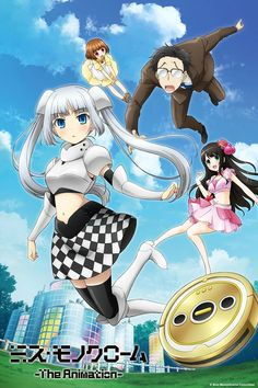 Miss Monochrome – The Animation Anime ENG-Sub