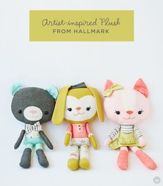 New artisan-made plush collections