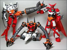 Fewture Models EX Chogokin Getter