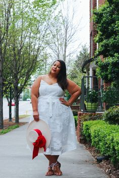 GarnerStyle | The Curvy Girl Guide: Where You'll Find Your Next Spring Dress - Paid for by Macy's and Refinery29