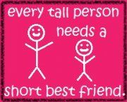 My bestie is the tall, skinny blonde :)