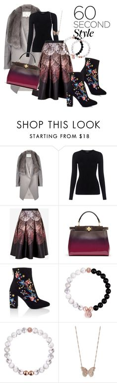 """""""60-Second Style: Ombre Effect"""" by emma-oloughlin ❤ liked on Polyvore featuring River Island, Theory, Ted Baker, Fendi, Miss Selfridge, LC Lauren Conrad, ombre and 60secondstyle"""