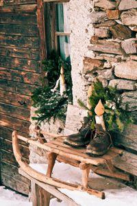 rustic christmas decor | Rustic Home Interior Designrustic Decor Decorating Ideas Brought ...